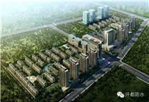 呼市兴泰东河湾项目施工